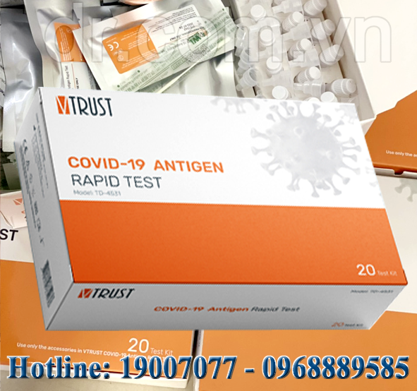 V Trust Covid-19 Antigen Rapid Test - COVID-19 Rapid test VTRUST