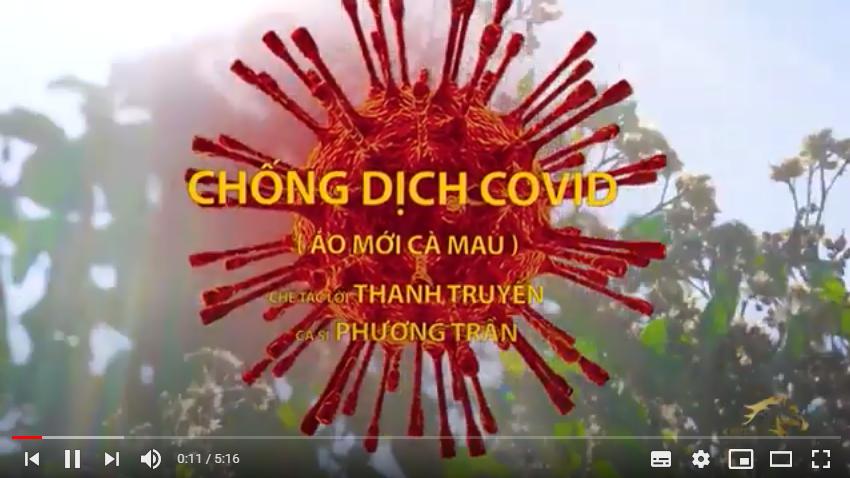 CHỐNG DỊCH COVID Nhạc Chế Theo Bài ÁO MỚI CÀ MAU Phương Trần