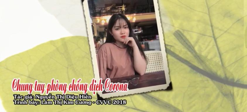 Tân cổ CHUNG TAY PHÒNG CHỐNG DỊCH CORONA Tg Diệu Hiền Tb Kim Cương CVVC
