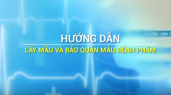 Hướng dẫn lấy mẫu xét nghiệm dịch họng, dịch tỵ hầu