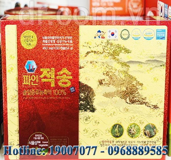 dr.com.vn - 9s.com.vn - si.com.vn - TINH DẦU THÔNG ĐỎ JEOKSONG HÀN QUỐC