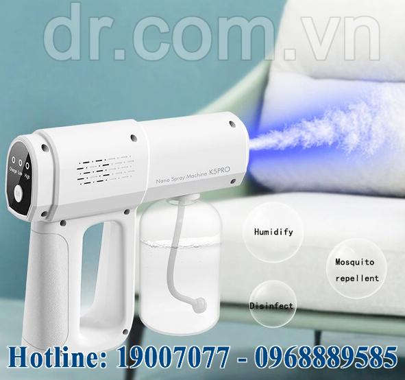 Súng phun khử khuẩn Nano Spray Gun K5 PRO